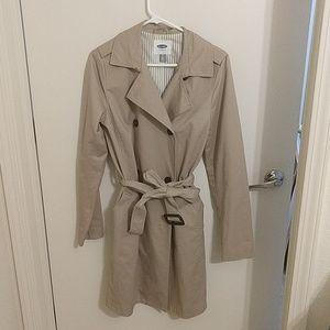 NWOT Old Navy tall small trench coat